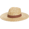 Noake Wheat Straw Hat - Hat -