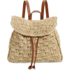 Nordstrom Straw Backpack - Рюкзаки -