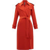 Norma Kamali Belted trench coat in red - Jacket - coats -