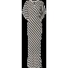 Norma Kamali - Striped Stretch-jersey Ma - Obleke -