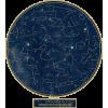 Northernconstellation night sky star map - Illustrazioni -