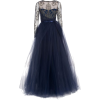 Notte By Marchesa Tulle Lace Gown - Dresses -