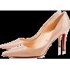 Nude Christian Louboutin New D - Zapatos clásicos -