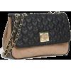 Nude and Black Betsey Crossbody Bag - Hand bag -