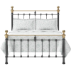 OBC hamilton low footend iron bed - Furniture -