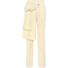 OFF-WHITE Curtains high-rise wool pants - Capri & Cropped -