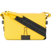 OFF-WHITE foldover clip shoulder bag - Carteras tipo sobre -