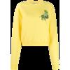 OFF-WHITE printed cropped sweatshirt - Shirts - lang - $724.00  ~ 621.83€