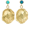 ORIT ELHANATI Ocean Shield opal earrings - Uhani -