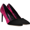 OSCAR DE LA RENTA Glitter and velvet pum - Classic shoes & Pumps - 658.00€  ~ $766.11