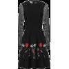 OSCAR DE LA RENTA Embroidered minidress - Dresses -