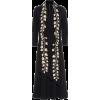 OSCAR DE LA RENTA Embroidered stretch-wo - Dresses -
