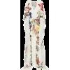 OSCAR DE LA RENTA Floral silk gown - Dresses -