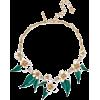 OSCAR DE LA RENTA Gold-tone, enamel and - Colares -