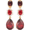 OSCAR DE LA RENTA Swarovski crystal and - Earrings -
