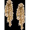 OSCAR DE LA RENTA beaded cascade drop ea - Earrings -