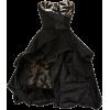 OSCAR DE LA RENTA black silk taffeta - Vestiti -