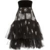 OSCAR DE LA RENTA black tulle dress - Vestiti -