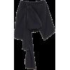 OSCAR DE LA RENTA blue bow skort - Spodnie - krótkie -