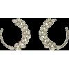 OSCAR DE LA RENTA crystal earrings - Earrings -