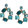 OSCAR DE LA RENTA crystal earrings - Earrings -