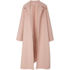 OSCAR DE LA RENTA draped coat - Jacket - coats -