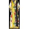 OSCAR DE LA RENTA floral caftan dress - Dresses -