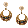OSCAR DE LA RENTA rhinestone embellished - Earrings -