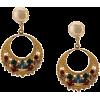 OSCAR DE LA RENTA rhinestone embellished - Brincos -