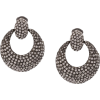 OSCAR DE LA RENTA rhinestone statement e - Earrings - $550.00