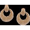 OSCAR DE LA RENTA rhinestone statement e - Earrings - $642.00  ~ £487.93