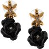 OSCAR DE LA RENTA rose earrings - Ohrringe -