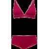 OSÉREE Lumiere high-rise metallic bikini - Kupaći kostimi -