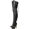 OVER THE KNEE THIGH-HIGH PLATFORM BOOTS - Čizme - $98.97  ~ 628,71kn