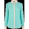 Oasis Blouse Blue Long sleeves shirts - Long sleeves shirts -