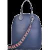 O bag '50 with skyway flowers - Hand bag -