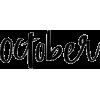 October - Besedila -