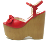 Odessa Red Wedges  - Wedges - $79.00