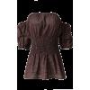 Off-Shoulder Bra Tops - Shirts - $25.99