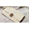 Old letter and golden seal - Articoli -