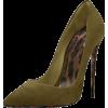Olive Pumps - Classic shoes & Pumps -