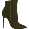 Olive boots - Boots -