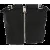 One-shoulder adjustable buckle zip vest - 坎肩 - $15.99  ~ ¥107.14
