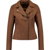Only biker jacket in brown - Chaquetas -