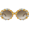 Orange and Blue Gem Sunglasses - Occhiali da sole -