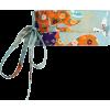 Orange and blue obi belt - Belt -