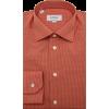 Orange dress shirt (Stanley Korshak) - Shirts -