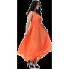 Orange evening dress (Tom Carry) - Dresses -