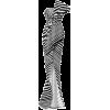Organza Strapless Bustier Gown - Vestiti -
