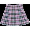 Original check pleat skirt - Skirts -
